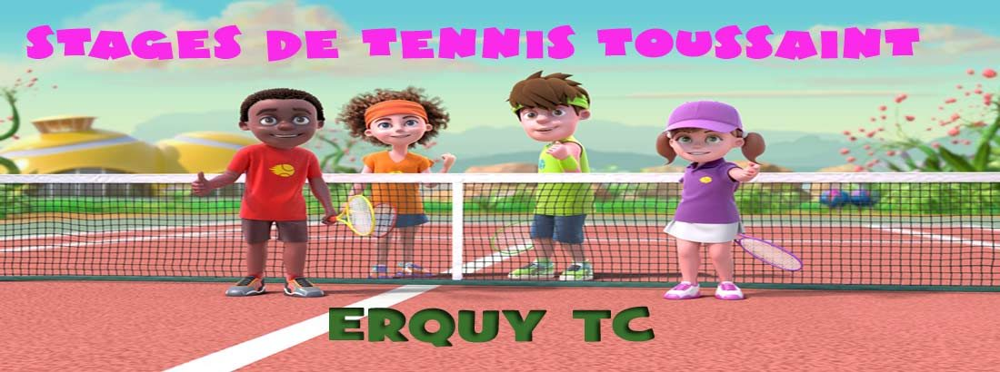 Stages de tennis Toussaint 2019