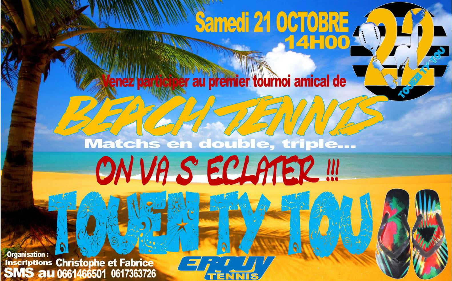 Tournois Amical BeachTennis