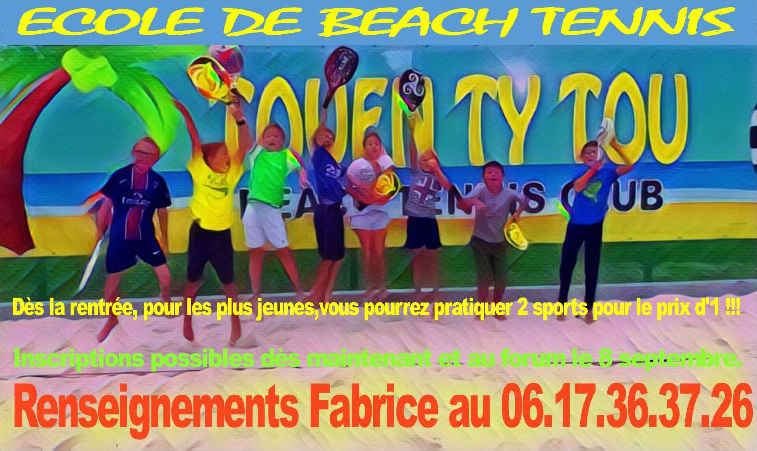 Cours de Beach Tennis